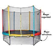 Cama saltarina de colores 3.05m
