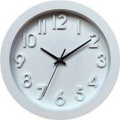 Reloj 3D blanco 25cm