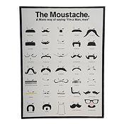 Cuadro Moustache 60x80cm