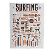 Cuadro Surfing 60x80cm