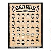 Cuadro Beards 60x80cm