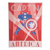 Cuadro Capitan America 60x80cm