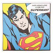 Cuadro Superman 40x40cm