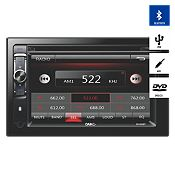 Radio DVD/USB/BT/6.2 Doble DIN