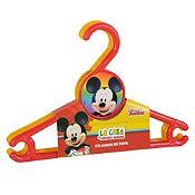 Set 3 colgadores de ropa Mickey