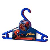 Set 3 colgadores de ropa Spiderman