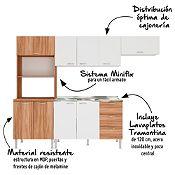 Mueble de cocina Galicia 260cm