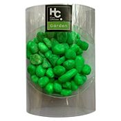 Piedras decorativas verdes