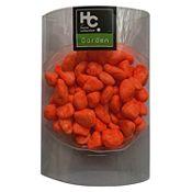 Piedras decorativas naranjas