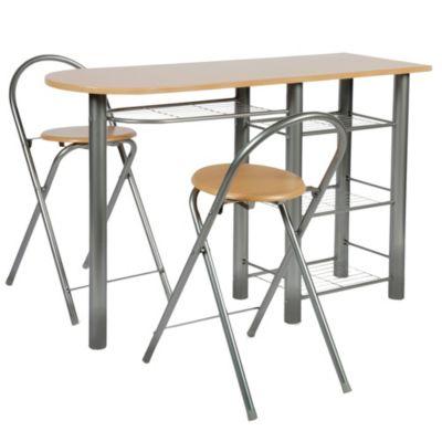 Comedor auxiliar 2 sillas for Sillas ergonomicas sodimac