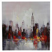 Canvas óleo New York 80x80cm