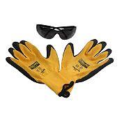 Kit guantes y lentes de Seguridad