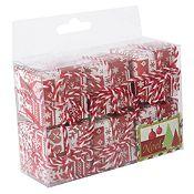 Set x 6 cajas de regalo Noel 4cm