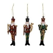 Set 3 soldados pintados Holy Night 14 cm
