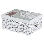 Caja papel Londres 28.5x21x12.5cm
