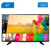 Televisor Smart LED Full HD 43