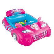 Carro inflable Barbie + Pelotas