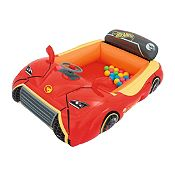 Carro inflable Hot Wheels + Pelotas