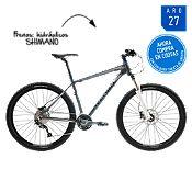 Bicicleta Rako Pro 27V. suspendida grafito Aro 27¨