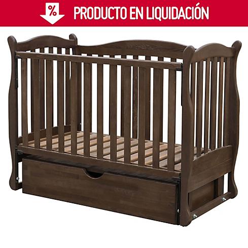 Cuna Curva con cajón Chocolate -&nbspSodimac.com.pe