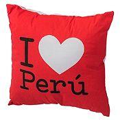 Cojín Perú 40x40 cm Corazón