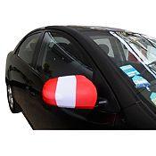 Pack x 2 banderas para espejo retrovisor