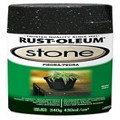 Spray Texturado piedra negro 12 Oz