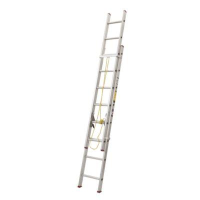 Escalera telesc pica aluminio 16 pasos for Escalera plegable aluminio sodimac