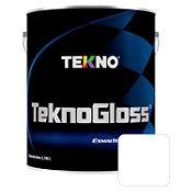 Esmalte automotriz Tecnoglos blanco 1 gl