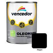 Esmalte sintético Oleomate negro 1/4 gl