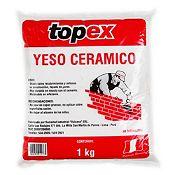 Yeso Cerámico Bolsa 1 kg