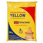 Cemento Refractario Yellow 5kg