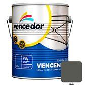 Esmalte sintético Vencenamel gris 1 gl
