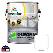 Esmalte sintético Oleomate blanco 1 gl