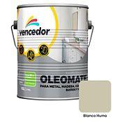 Esmalte sintético Oleomate blanco Humo 1 gl
