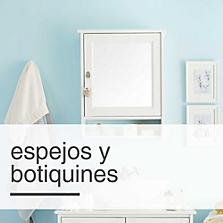 Espejos y Botiquines
