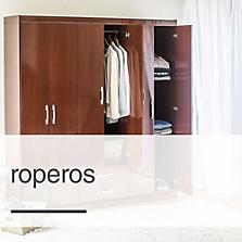 Muebles de dormitorio sodimac for Roperos para dormitorios en melamina