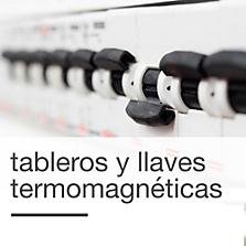 Llaves termomagnéticas y tableros