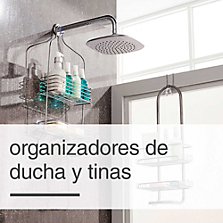 Organizadores de ducha y tinas