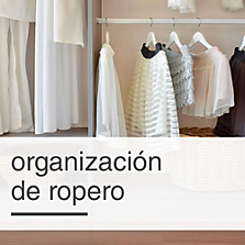 Organización de ropero