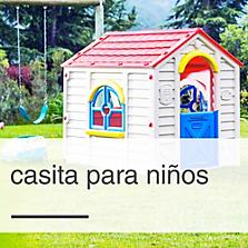 Juegos infantiles y casitas