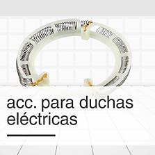 Accesorios para duchas el�ctricas