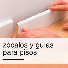 Zócalos y guías para pisos