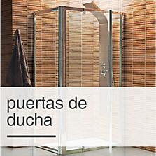 Duchas pequeas medidas top plano de casa con medidas m for Puertas correderas sodimac