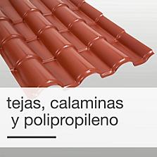 Tejas, calaminas y polipropileno