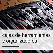 Cajas de Herramientas y Organizadores