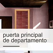 Puerta Principal de Departamento