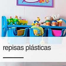 Repisas plásticas