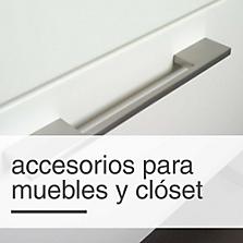 Accesorios para muebles y clóset