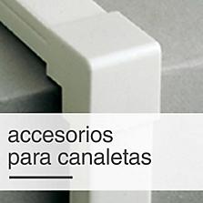 Accesorios para canaletas